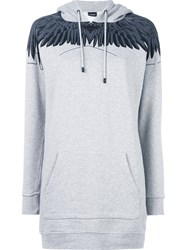 Marcelo Burlon County Of Milan 'Paloma' Hoodie Grey