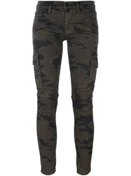 Hudson 'Colby' Cargo Trousers Green