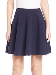 Rebecca Taylor Pleated Skirt Navy
