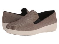 Fitflop Superskate Lizard Print Chocolate Brown Women's Shoes