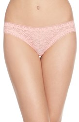 Women's Kensie 'Mattie' Lace Thong Sunrise