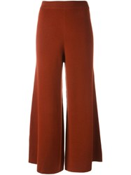By Malene Birger 'Charlone' Wide Leg Trousers Red