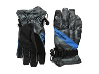 Quiksilver Meteor Glove The Line Asphalt Snowboard Gloves Gray