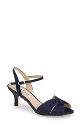 Women's Nina 'Camille' Pleated Sandal New Navy