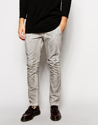 Cheap Monday Slim Fit Coated Chinos Grey