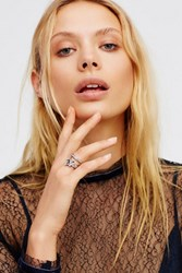 Free People Womens Golden Eye Stone Ring