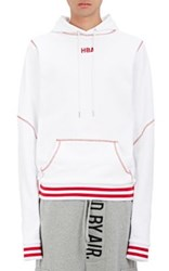 Hood By Air Men's Angel Dust French Terry Hoodie White