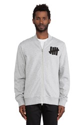 Undefeated Revolution Varsity Jacket Gray