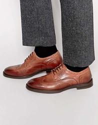 Selected Homme Marc Brogue Shoes Brown