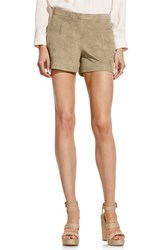 Women's Vince Camuto Faux Suede Shorts Sand Dune
