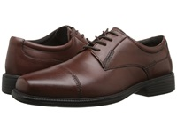 Bostonian Wenham Brown Smooth Leather Men's Lace Up Cap Toe Shoes