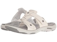 Merrell Adhera Slide Ii White Women's Sandals