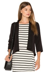 Cupcakes And Cashmere Kali Blazer Black