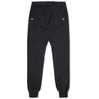 Bleu De Paname Drill Cotton Leisure Pant Black