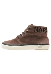 Napapijri Jakob Hightop Trainers Dark Brown