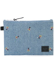 Herschel Supply Co. Denim Clutch Blue