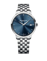 Raymond Weil Mens Toccato Stainless Steel Bracelet Watch Silver
