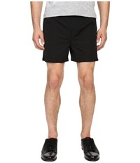 The Kooples Technical Nylon Shorts Black