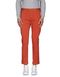Pt01 Trousers Casual Trousers Men Rust