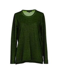 Markus Lupfer Long Sleeve Sweaters Military Green