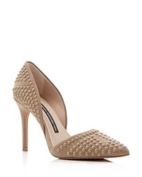 French Connection Pumps Ellis Studded Pointed Toe Hazelwood
