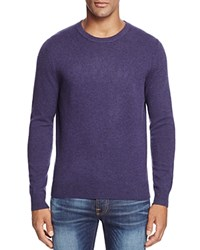 Bloomingdale's The Men's Store At Cashmere Crewneck Sweater Blueberry