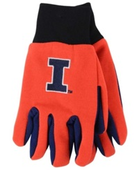 Forever Collectibles Illinois Fighting Illini Palm Gloves