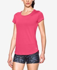 Under Armour Fly By 2.0 T Shirt Pink Sky