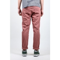 Save Khaki Cropped Chino Jean In Brick Atoo.Co.Uk