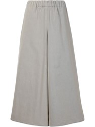 Dusan Cropped Culottes Brown