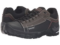 Hi Tec Trail Ox Low I Waterproof Chocolate Black Burnt Orange Men's Shoes