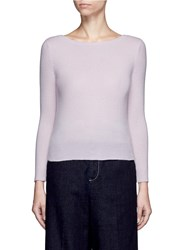 Crush Collection Cashmere Sweater Pink