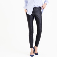 J.Crew Pre Order Collection Petite Leather Ryder Pant