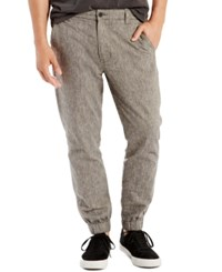 Levi's Men's Chino Jogger Pants Black Chambray
