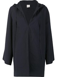Malia Mills Hooded Beach Cover Up Black