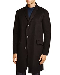 Theory Whyte Wool Cashmere Coat Black