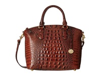 Brahmin Duxbury Satchel Pecan Satchel Handbags Brown