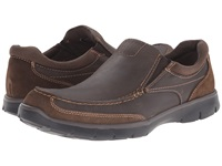 Dockers Suitland Dark Brown Distressed Oiled Full Grain Men's Slip On Shoes
