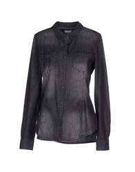 Vero Moda Denim Shirts Black