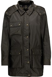 Belstaff Emmerson Cotton Gabardine Jacket Army Green