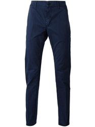 Re Hash Chino Trousers Blue