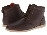 Clae Hamilton Umber Leather Men's Lace Up Boots Brown