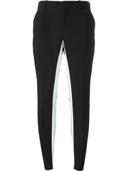Each X Other Panelled Slim Trousers Black