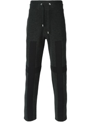 Givenchy Cross Applique Track Pants Grey