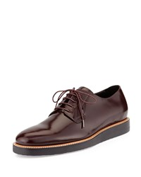 Vince Dylan Leather Oxford Shoe Brown Women's Black