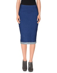 Ean 13 3 4 Length Skirts Blue