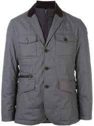 Hackett 'Mayfair' Zip Out Jacket Grey