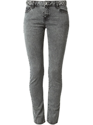 Each X Other Embellished Waist Skinny Jeans Grey