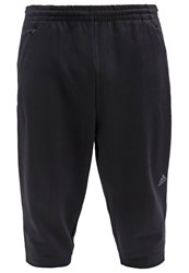 Adidas Performance 3 4 Sports Trousers Black