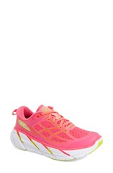 Women's Hoka One One 'Clifton 2' Running Shoe Neon Pink Acid